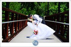 Wedding Image On Bridge Next To Shooters 1148 Main Avenue Cleveland Oh 44113 Northeast Ohio