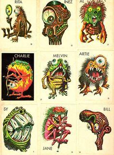 Comics Illustrator of the Week :: Basil Wolverton « Illustration Friday Cartoon Monsters, Cool Monsters, Horror Comics, Horror Art, Illustrations, Illustration Art, Basil Wolverton, Monster Art, Pulp Art