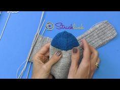 Projekt: Sockenstricken hier Maschenaufnahme aus der Fersenwand 5.. Teil - YouTube