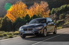 New BMW 1 Series 2015 front