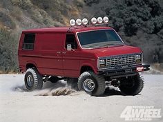 Ford 4x4 van. www.powerpacknation.com