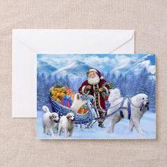 Great Pyrenees Christmas card