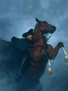 The Highwayman's Footsteps (Candlewick) Tristan Elwell www.tristanelwell.com