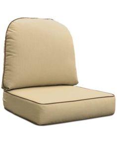 Coral Coast Fiji Sunbrella Seat Cushion 23 X 23 In Set Of 4