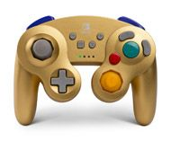 Boxshot  Wireless Controller for Nintendo Switch - GameCube Style Gold -  Only at GameStop by c29eaefe62e47