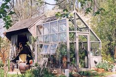 Benches, Sheds, and Greenhouses. Oh my.