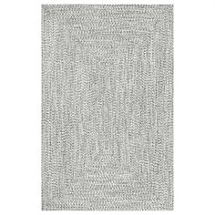 nuLOOM HJFV01C Salt and Pepper Braided Lefebvre Area Rug