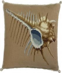Elizabeth Bradley | Needlepoint Kits The Shells - The Beaumaris Collection - Browse By Kit Collection - Shop (UK/International)