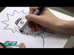 NARUTO: Masashi Kishimoto OFFICIAL Creator Sketch Video by SHONEN JUMP Alpha