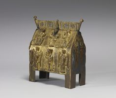 Reliquary Shrine with Scenes from the Life of Christ, the Walters Art Museum