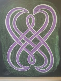 Vormtekening klas 4, 5, 6 Celtic Patterns, Celtic Designs, Celtic Symbols, Celtic Knot, Celtic Quilt, 6th Form, Form Drawing, Waldorf Education, Chalk Drawings