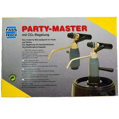 Party Master con regulador de CO2 | Install Beer Partys, Fire Extinguisher, Can Opener, Beer, Pump, Beer Keg, Cool Drinks, Barrels, Pumps