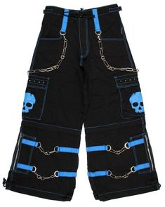 Here are the top 15 most stunning rave pants for sale that are super eye-catching and incredibly fun to wear on the dance floor as you rave to the music. Skull Fashion, Punk Fashion, Fashion 2020, Fashion Pants, Fashion Outfits, Goth Pants, Rave Pants, Punk Outfits, Grunge Outfits