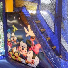 World of Disney Jumping Castles  #inflatables #disney #worldofdisney #bouncycastles