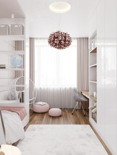 Tiny Bedroom Design, Home Room Design, Small Room Design, Girl Bedroom Designs, Room Ideas Bedroom, Small Room Bedroom, Bedroom Layouts, Bedroom Decor, Aesthetic Room Decor