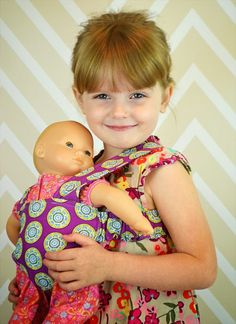 Create Kids Couture: Doll Carrier and Makeover Videos [[free pattern!]]