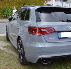 2016 Audi RS3 Nardo Grey