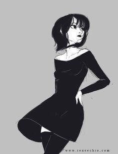 ArtStation - Sketch dump, Renee Chio