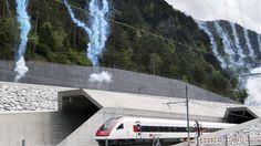 Große Eröffnungsfeier am Gotthard | Bahn frei für den längsten Eisenbahntunnel der Welt - Urlaub in Europa - Bild.de