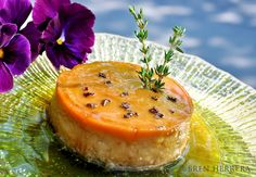 Earl Grey & Thyme Flan | Flanboyant Eats™: Latin Fusion Cooking & Tasty Travels Under Pressure!™