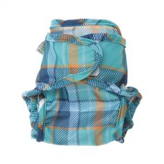 Little Lamb Wraps Special Edition Plaid Blauw - Blabloom
