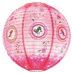 Lanterne lampe - petits oiseaux pour l'anniversaire de votre enfant - Annikids