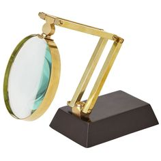 Adjustable magnifying glasses are still standard on the desks of scientists, mathemeticians and readers of fine print everywhere. The Anders articulating magnifying glass rises to a commanding 18 inch