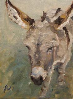 """Daily Paintworks - """"Julio"""" - Original Fine Art for Sale - © H.F. Wallen"""