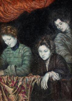 Emile Bernard (French, 1868 - 1941)  Three women on the balcony,1903Oil on canvas
