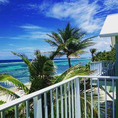 Wyndham Reef Grand Cayman balcony view. Stunning.