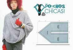 Several different poncho/wrap patterns.  All simple.