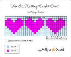 New knitting hat patterns free charts Ideas Graph Crochet, Free Crochet, Crochet Patterns, Hat Crochet, Hat Patterns, Fair Isle Knitting Patterns, Knitting Charts, Fair Isle Chart, Tapestry Crochet
