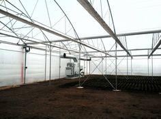 Generator de aer cald in sera -Hot air generator in greenhouse -350kw