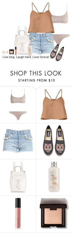 """Ethical Fashion"" by cefizzy ❤ liked on Polyvore featuring Zimmermann, TIBI, Forte Couture, Kenzo, French Connection, The Face Shop, Bare Escentuals, Laura Mercier and Gucci"