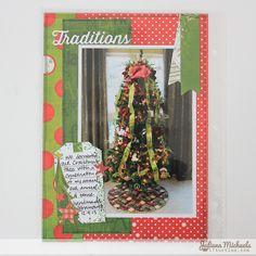 BoBunny Elf Magic Misc Me Document December Album by Juliana Michaels - Scrapbook.com