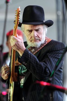 Merle Haggard (2012) - I've seen this legend in concert. Still puts on a great show!