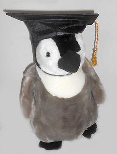 "Jumbo Penguin Graduate Plush (21"" Tall)"