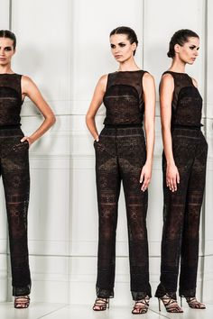 Zuhair Murad | Spring 2014 Ready-to-Wear Collection | Style.com - sheer pattern