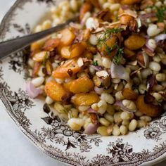 Carrot ..dill..white bean salad!!
