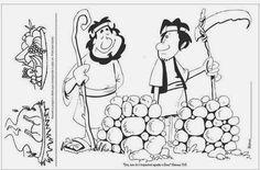"""Ministério Infantil, """"Sementes para uma Nova Geração"""": Série Heróis da Fé - Lição 2 Caim E Abel, Cain And Abel, Sunday School, Snoopy, Comics, Fictional Characters, Nova, Internet, Study"""