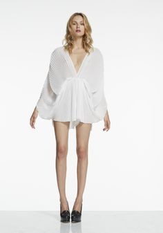 Alice McCall Oceanography Playsuit (White) Pre-Order Late May Delivery