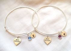 Alex and Ani Style Best Friend Bracelets  by TheBlueEyedBeader, $40.00