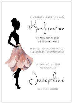 Konfirmation - Confirmation, Sweet 16, Party Invitations, Projects To Try, Student, Creative, Diy, Inspiration, Invitations
