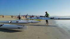 Elite Kayak (English): Great participation at the A Lanzada Ocean Race in Spain
