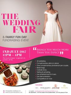 The Wedding Fair 2nd July 2017 at The Round Chapel E5 0LY