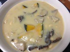 玉ねぎと椎茸とじゃがいもと南瓜と大豆 - 6件のもぐもぐ - クリームシチュー by relychoris