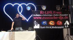 Russischer DJ für Hochzeit gesucht? Buchen Sie jetzt.