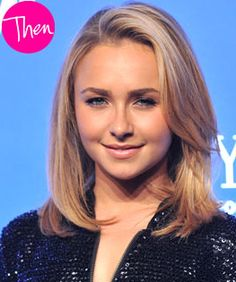 Hayden Panettiere layered medium length haircut \