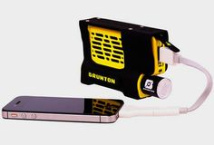 Brunton Hydrogen Reactor - Charge your phone with a pocket-size power plant
