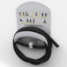 The SMART Battle Rope Caddy from Prism Fitness Group is a commercial-grade all-in-one battle rope anchor and storage caddy. The Smart Rope Caddy features eight self-guided exercises printed directly on the back plate for easy reference. Fitness Accessories, Workout Accessories, Storage Caddy, Wall Storage, Group Fitness, Fitness Studio, Battle Ropes, Home Gym Design, Back Plate